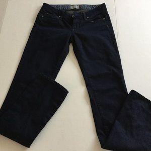 PAIGE Dark Wash Skinny Jeans Size 25 Like New!